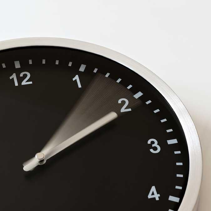 moving clock
